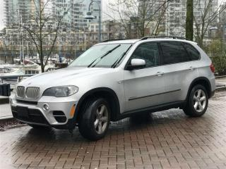 Used 2011 BMW X5 DIESEL,LOCAL,NO ACCIDENT,FULLY LOADED for sale in Vancouver, BC