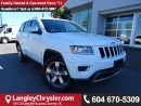 Used 2016 Jeep Grand Cherokee Limited w/ REMOTE START & HEATED SECOND ROW SEATS for sale in Surrey, BC