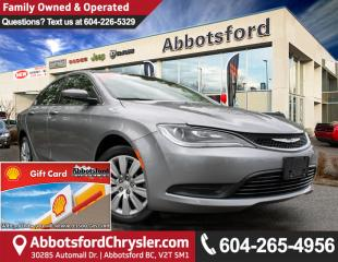 Used 2016 Chrysler 200 LX Like New X-Demo Vehicle! for sale in Abbotsford, BC