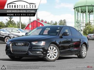 Used 2013 Audi A4 6SPD MANUAL! Premium quattro for sale in Stittsville, ON
