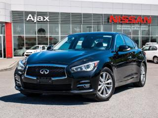 Used 2014 Infiniti Q50 AWD Premium Navigation*Leather*Heated Seats for sale in Ajax, ON