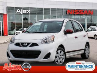 Used 2017 Nissan Micra SV*950 kms*Accident Free for sale in Ajax, ON