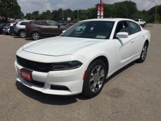 Used 2016 Dodge Charger SXT! NAVIGATION! FACT. REMOTE START! AWD! for sale in Aylmer, ON