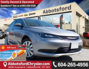 Used 2016 Chrysler 200 LX Like New Showcase Vehicle! for sale in Abbotsford, BC