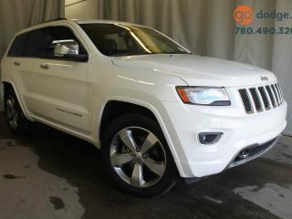 Used 2014 Jeep Grand Cherokee Overland 4X4 SUNROOF / NAVIGATION for sale in Edmonton, AB