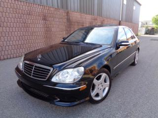 Used 2003 Mercedes-Benz S-Class ***SOLD*** for sale in Etobicoke, ON