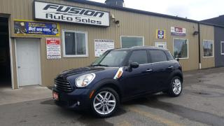 Used 2014 MINI Cooper Countryman Premuim & Style Pacakges-Sunroof-Leather-Bluetooth for sale in Tilbury, ON