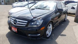 Used 2013 Mercedes-Benz C250 1 OWNER OFF LEASE-SUNROOF-LEATHER-HEATED SEATS for sale in Tilbury, ON