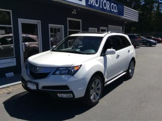 Used 2012 Acura MDX Elite Pkg for sale in Parksville, BC