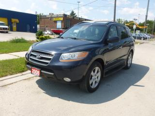 Used 2008 Hyundai Santa Fe Limited 5-Pass for sale in North York, ON