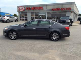 Used 2014 Kia CADENZA Leather for sale in Owen Sound, ON