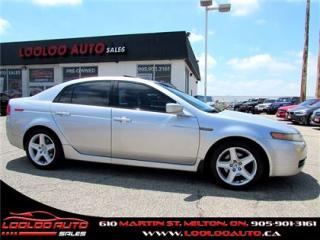 Used 2006 Acura TL 3.2L LEATHER SUNROOF BLUETOOTH CERTIFIED 2 YRS WARRANTY for sale in Milton, ON