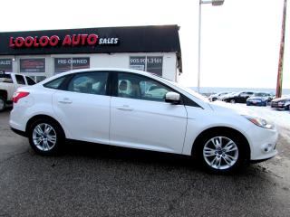 Used 2012 Ford Focus SEL Sedan BLUETOOTH CERTIFIED 2 YEAR WARRANTY for sale in Milton, ON