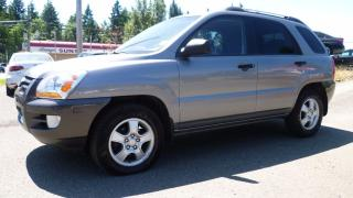 Used 2006 Kia Sportage LX-Convenience for sale in Parksville, BC