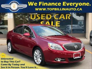 Used 2014 Buick Verano LEATHER, Accident Avoidance, BACKUP CAM 42K kms for sale in Concord, ON
