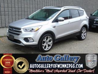 Used 2017 Ford Escape Titanium *AWD/NAV for sale in Winnipeg, MB