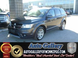 Used 2016 Dodge Journey R/T AWD *7 Pass/Lthr for sale in Winnipeg, MB