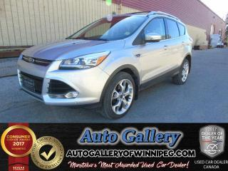 Used 2016 Ford Escape Titanium AWD *Nav for sale in Winnipeg, MB