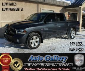 Used 2014 Dodge Ram 1500 Sport 4x4*Lthr/Nav for sale in Winnipeg, MB