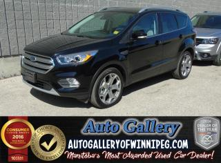 Used 2017 Ford Escape Titanium AWD *Nav for sale in Winnipeg, MB