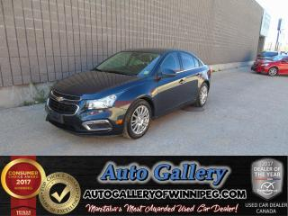 Used 2015 Chevrolet Cruze ECO *Back up Camera! for sale in Winnipeg, MB