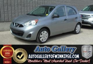 Used 2015 Nissan Micra S *Low Price! for sale in Winnipeg, MB