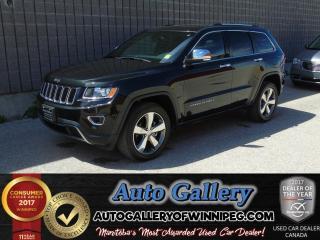 Used 2016 Jeep Grand Cherokee Ltd 4x4 *Lthr/Nav for sale in Winnipeg, MB