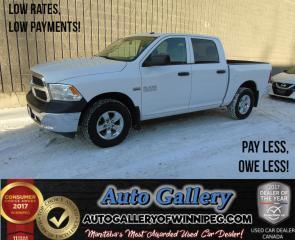 Used 2014 Dodge Ram 1500 ST *4x4/HEMI for sale in Winnipeg, MB