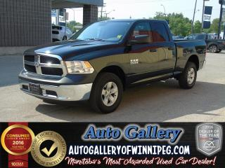 Used 2017 Dodge Ram 1500 ST *Only 1,017 kms! for sale in Winnipeg, MB