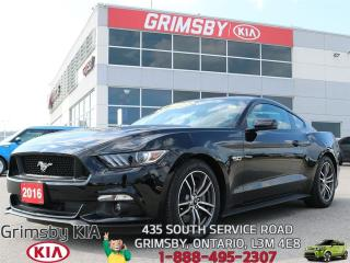 Used 2016 Ford Mustang GT...THIS MUSTANG IS A MUST HAVE!!! for sale in Grimsby, ON