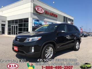 Used 2014 Kia Sorento LX...POWERFUL SMOOTH COMFORT!!! for sale in Grimsby, ON