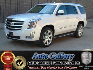 Used 2016 Cadillac Escalade LUXURY COLLECTION for sale in Winnipeg, MB