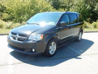 Used 2016 Dodge Grand Caravan Crew Plus DUAL DVD LEATHER POWER DOORS! for sale in Halifax, NS
