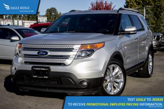 Used 2014 Ford Explorer Limited Navigation, Sunroof, and Heated Seats for sale in Port Coquitlam, BC