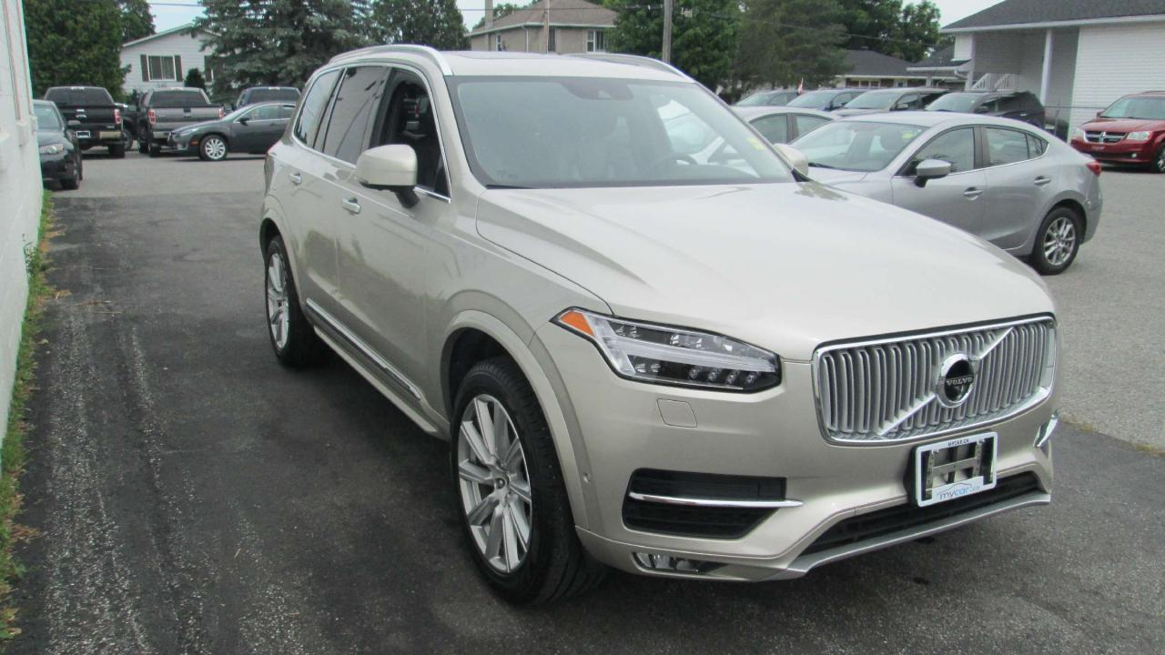 used 2016 volvo xc90 t6 inscription for sale in richmond ontario. Black Bedroom Furniture Sets. Home Design Ideas