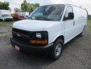 Used 2016 Chevrolet Express 3/4 TON 'CARGO MOVING' 2 PASSENGER 4.8L - V8.. CD/AUX INPUT.. AIR CONDITIONING.. EXTENDED CARGO AREA.. for sale in Bradford, ON