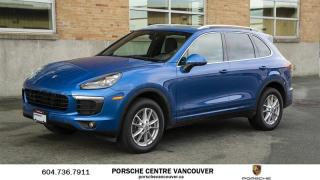 Used 2017 Porsche Cayenne w/ Tip | PORSCHE CERTIFIED for sale in Vancouver, BC