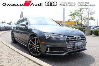 Used 2018 Audi S4 TFSI quattro Technik w/ Audi Virtual Cockpit for sale in Whitby, ON