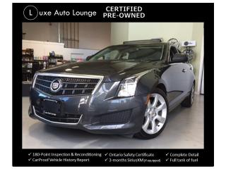 Used 2014 Cadillac ATS 2.0L TURBO! ONLY 49K, SUNROOF, CUE, BOSE! for sale in Orleans, ON