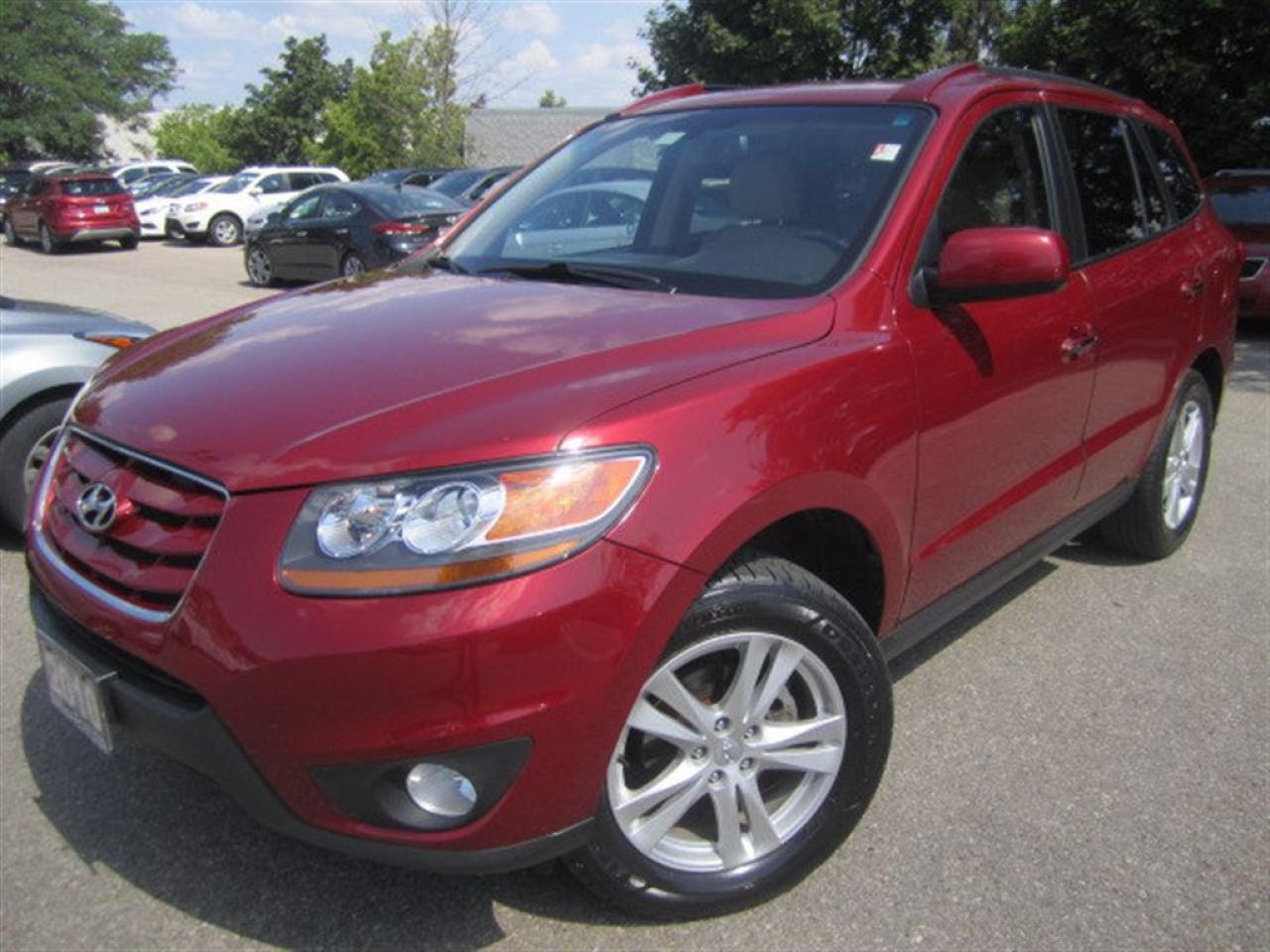 2010 Hyundai Santa Fe Limited 3.5-AWD-super clean-certified