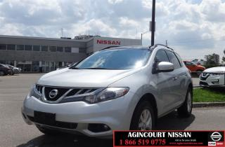 Used 2011 Nissan Murano SV |Power Seats|Back-Up Camera|Sunroof| for sale in Scarborough, ON
