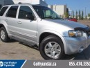 Used 2007 Ford Escape LIMITED LEATHER SUNROOF for sale in Edmonton, AB