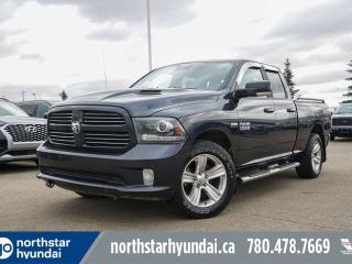 Used 2013 RAM 1500 SPORT/LEATHER/SUNROOF/NAV/SPORTHOODBACKUP/20'S for sale in Edmonton, AB