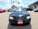 Used 2005 Saab 9-3 Linear Leather Sunroof Auto for sale in Milton, ON