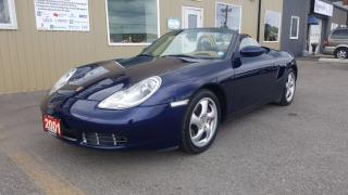 Used 2001 Porsche Boxster S-AUTO-SUPER CLEAN-AFTERMAKET LED HEADLAMPS for sale in Tilbury, ON