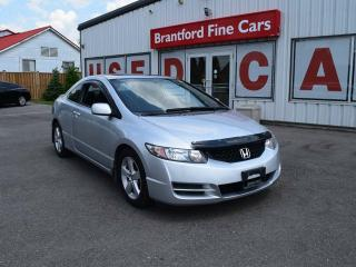 Used 2009 Honda Civic LX SR 2dr Coupe for sale in Brantford, ON