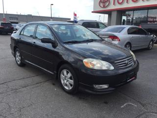 Used 2004 Toyota Corolla Sport for sale in Cambridge, ON
