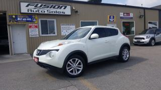 Used 2011 Nissan Juke SV-LEATHER-TINTED GLASS-LOCAL TRADE for sale in Tilbury, ON