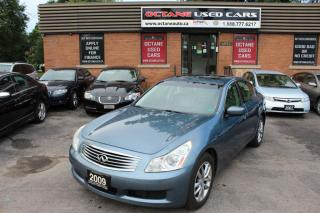 Used 2009 Infiniti G37X  Luxury for sale in Scarborough, ON