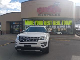 Used 2016 Ford Explorer LIMITED 7 PASSENGER for sale in Scarborough, ON